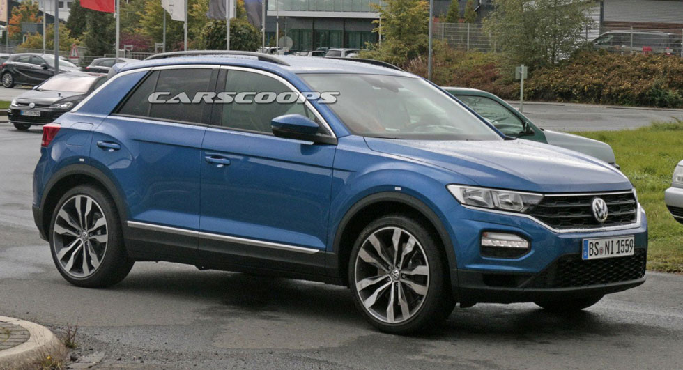 vw t roc r looks to spice up the crossover segment with 310 hp. Black Bedroom Furniture Sets. Home Design Ideas