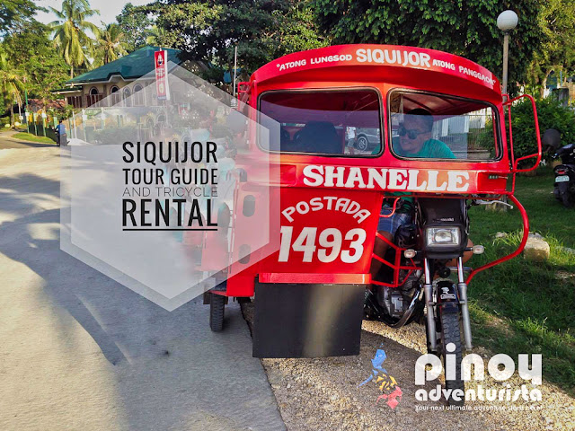 Siquijor Tour Guide and Tricycle Rental