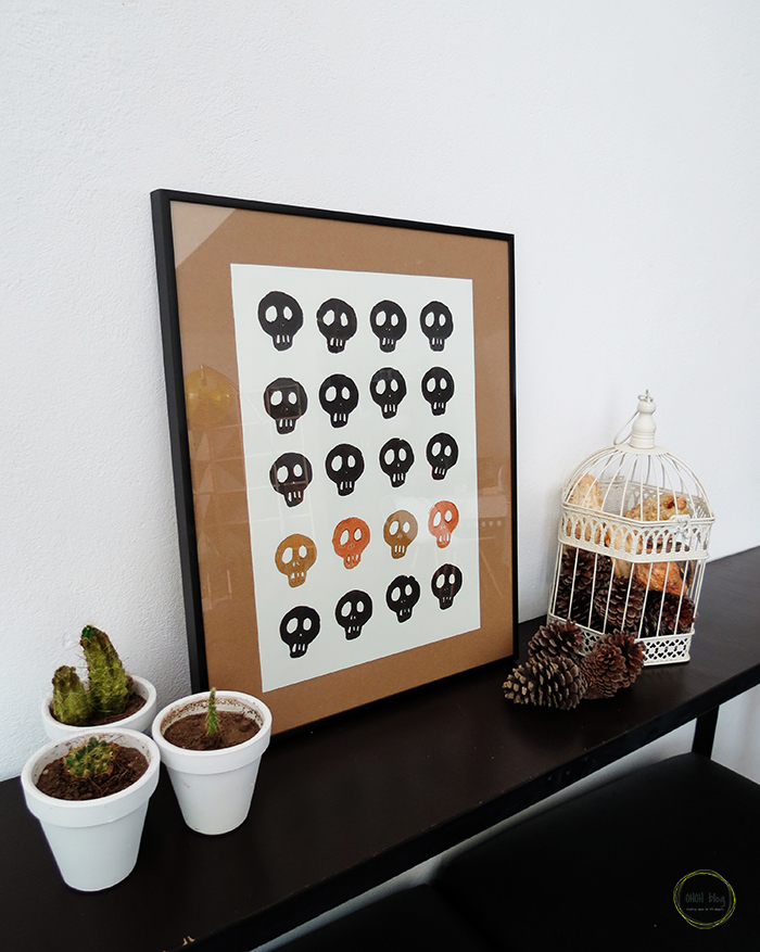 How to make a skull stamp - Ohoh Blog