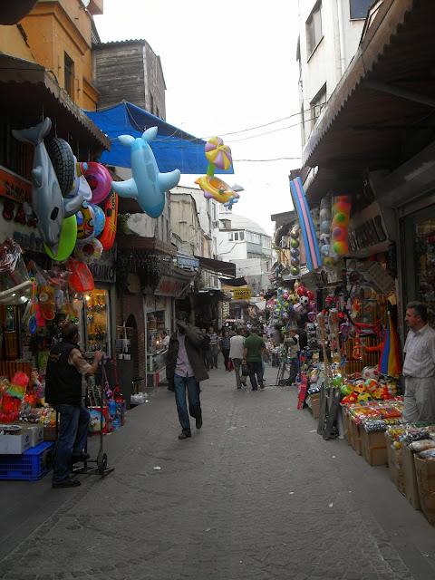 alrededores del gran bazar estambul