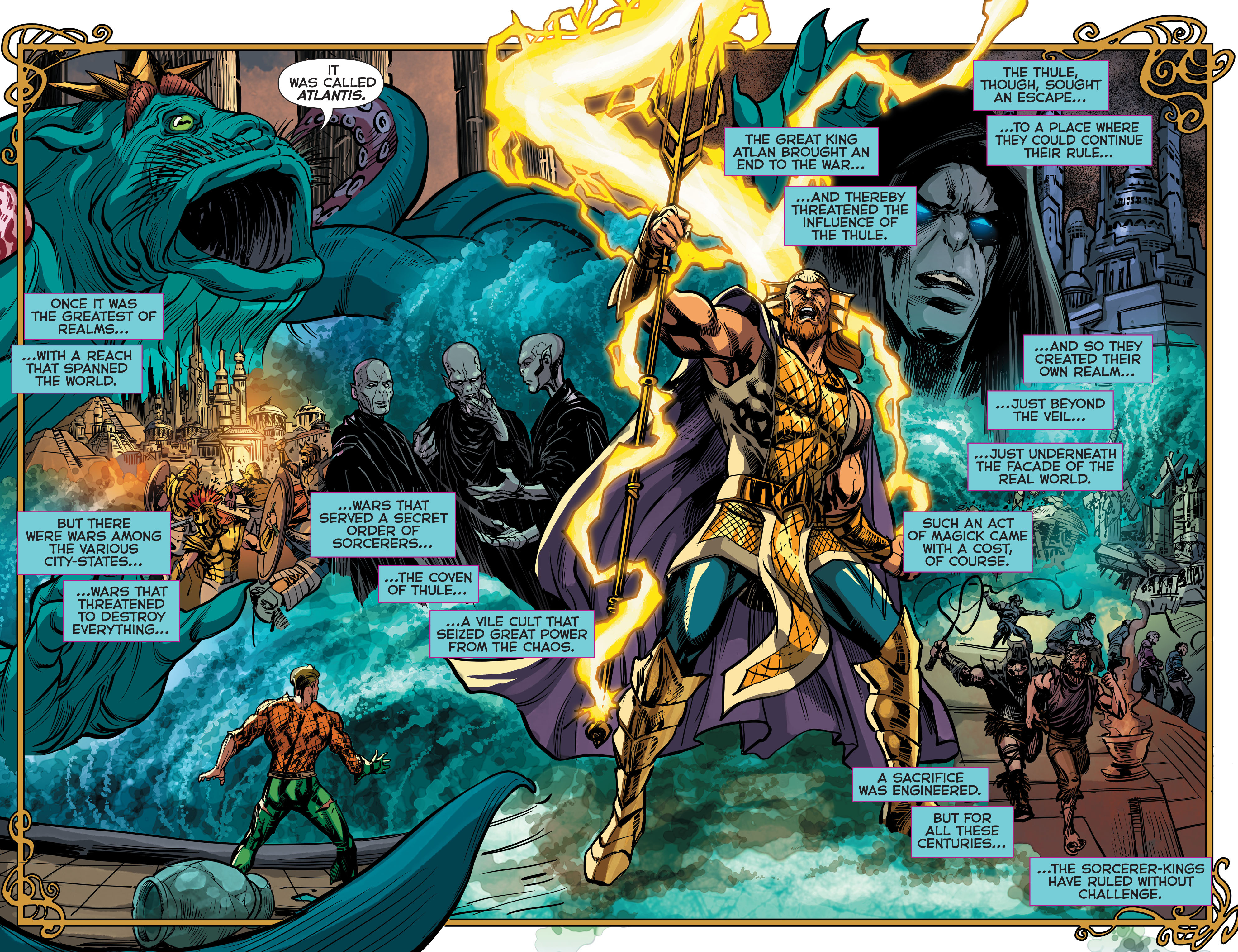 Read online Aquaman (2011) comic -  Issue #43 - 16