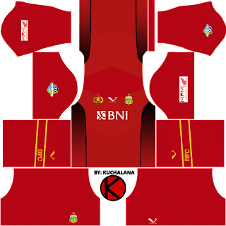 Bhayangkara FC Kits 2017 -  Dream League Soccer Kits