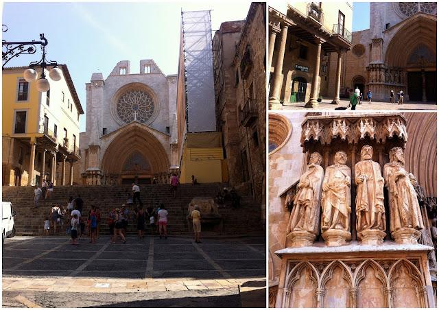 la catedral de Tarragona y sus calles medievales
