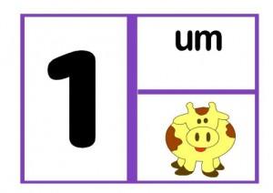 cartazes dos números para sala de aula