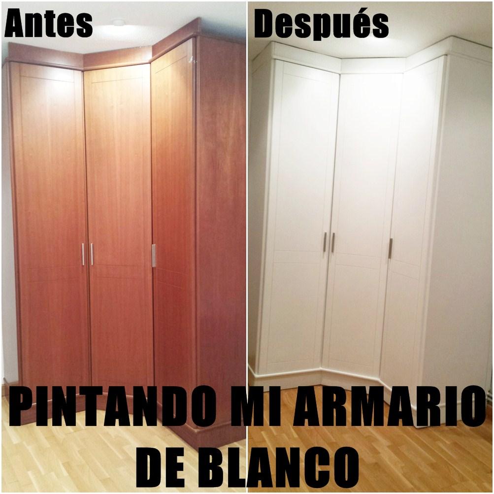 Emmaaist pintar un armario de color blanco paso a paso - Pintar armario de madera ...