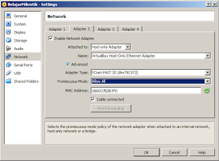Langkah Mudah Konfigurasi Dasar Mikrotik Dengan VirtualBox