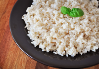 arroz integral da maneira correta