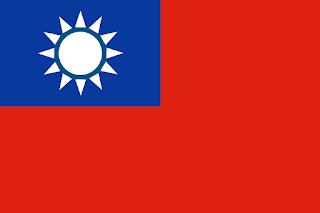 Le Chameau Bleu - Drapeau Taiwan