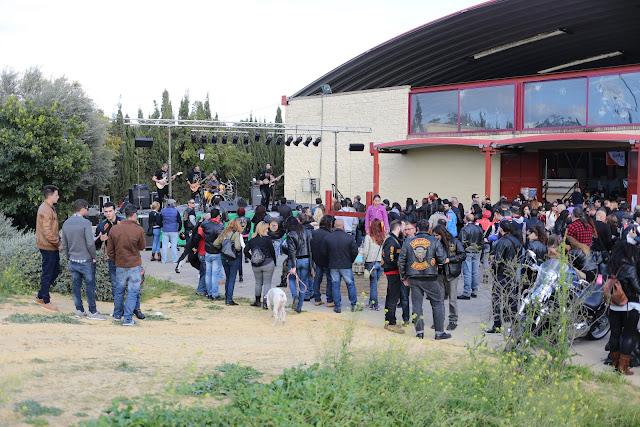 Concierto en la concentración de fotos en Mairena del Aljarafe