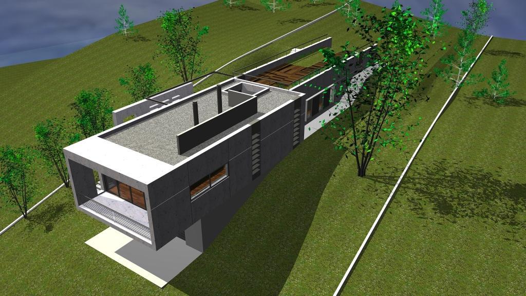 Arquitectura arquidea casa minimalista en barcelona for Casa minimalista en