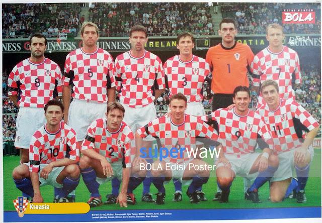 Poster Tim Kroasia 2000