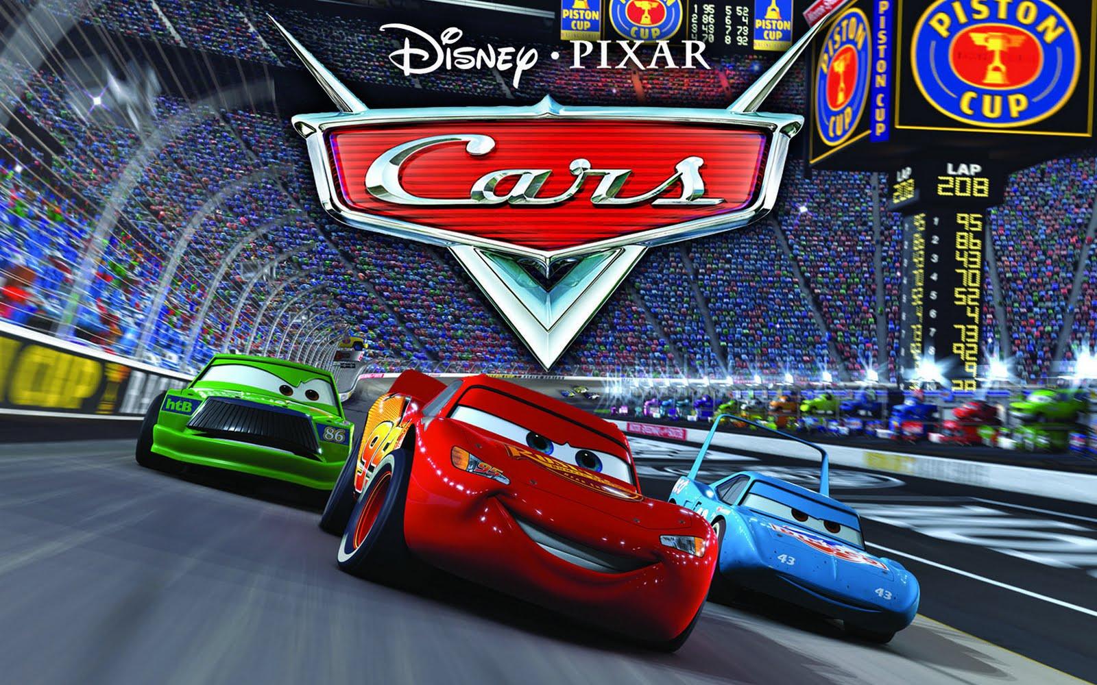 Disney Pixar Cars Lightning McQueen Wallpaper