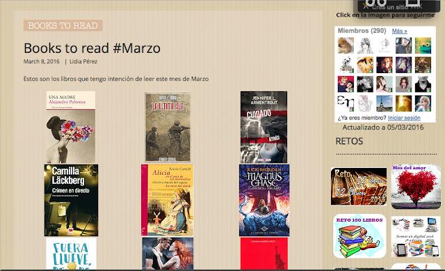 http://yerathel41.wix.com/agarratevienenlibros#!Books-to-read-Marzo/ulspz/56dc002c0cf2cacdc4254856