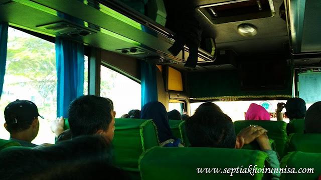 Bus ramai saat mudik