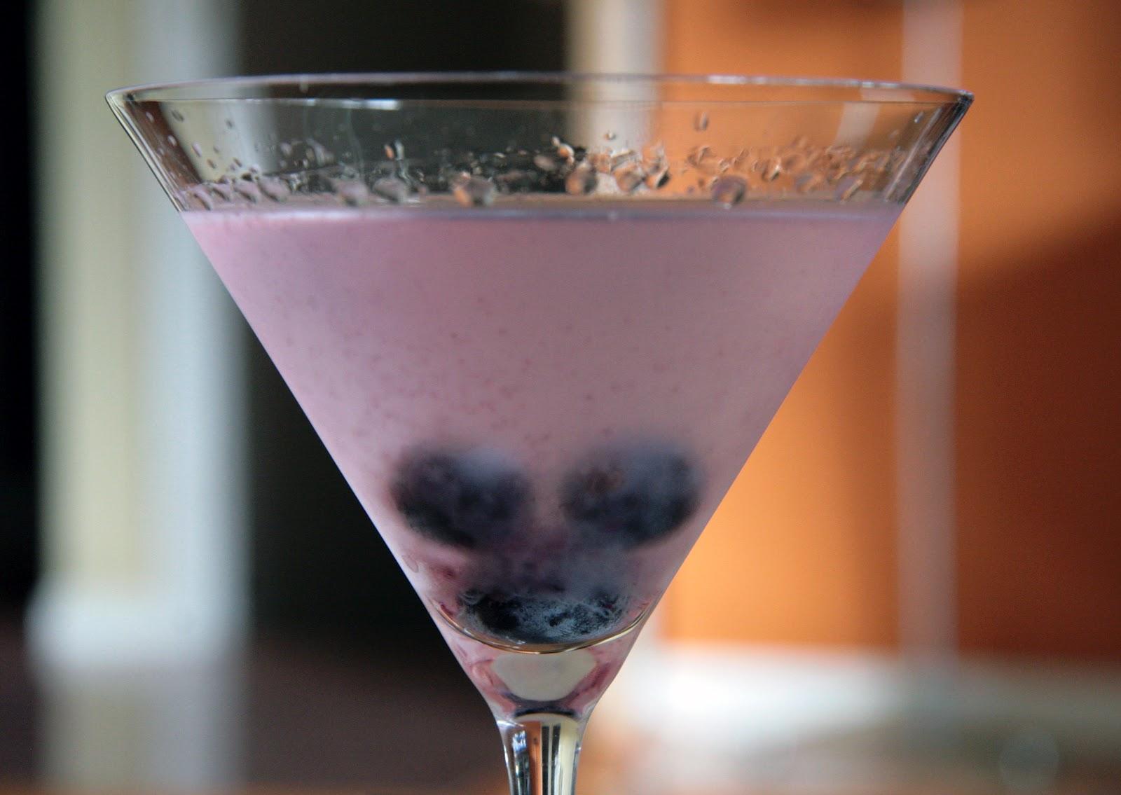 Concord grape martini