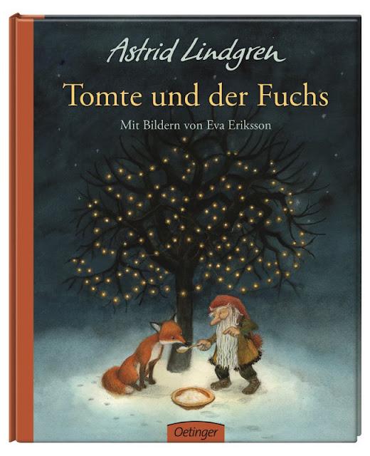 """Das Bücherboot: Weihnachtswichtel in Kinder- und Jugendbüchern (+ Verlosung). Im Kinderbuch """"Tomte und der Fuchs"""" wird der Wichtel zum Friedensstifter an Weihnachten."""