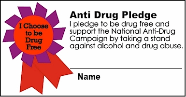anti drug coloring pages - photo#35