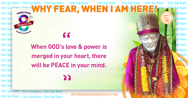 Prayer For My Mother's Health And My Health - Anonymous Sai Devotee