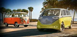 Famous Volkswagen Van back as Electric this time