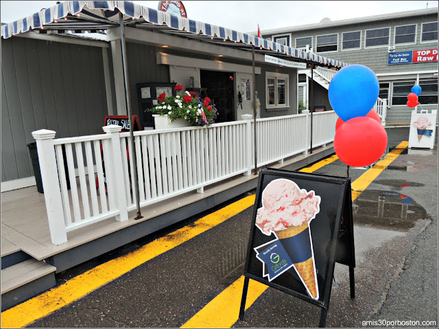 Lobster Shacks en Massachusetts: Heladería del Woodman's of Essex