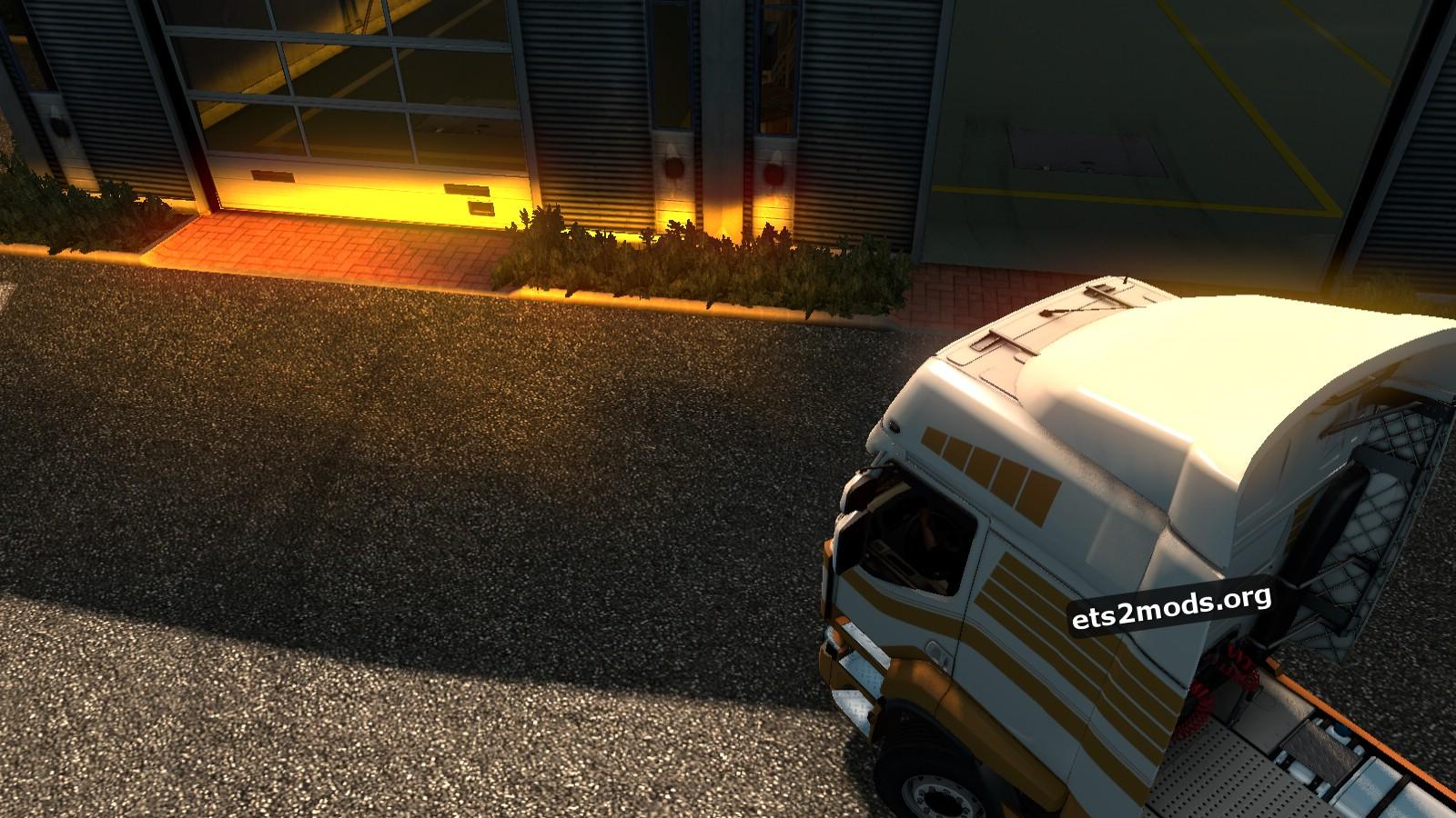 Mod - Dark Yellow Headlight