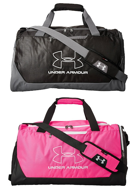 6PM: Under Armour UA Hustle-R Medium Duffel Bag only $20 (reg $35)!