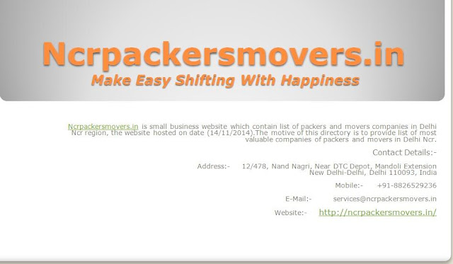 http://ncrpackersmovers.in/