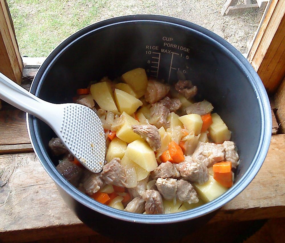 Картошка в мультиварке тушение