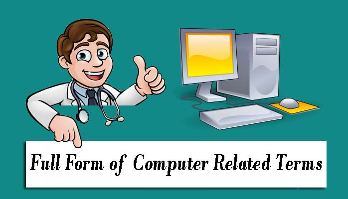 Computer से Related full form in Hindi