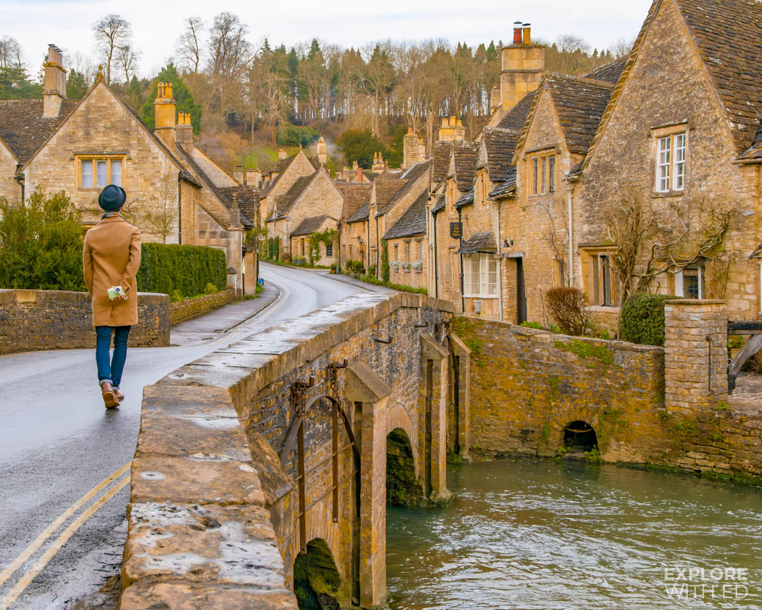 A day trip guide to Castle Combe by the travel blog 'Explore With Ed'