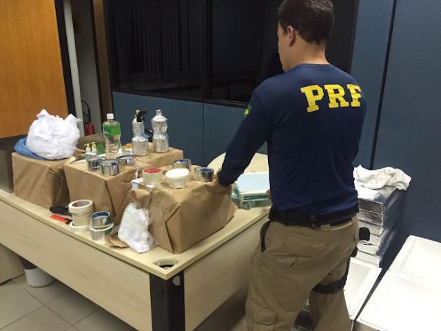 Quadrilha é presa com material para falsificar dinheiro em Rondônia
