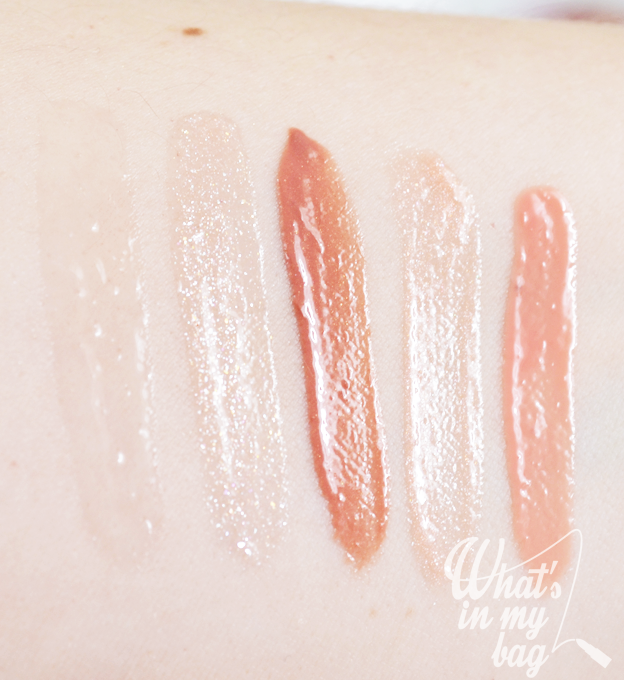 Miss Pupa gloss swatch
