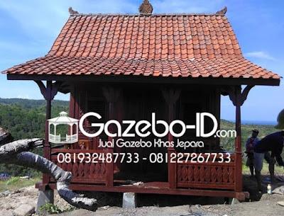 Gazebo Rumah Ukir Jawa Jati Jepara