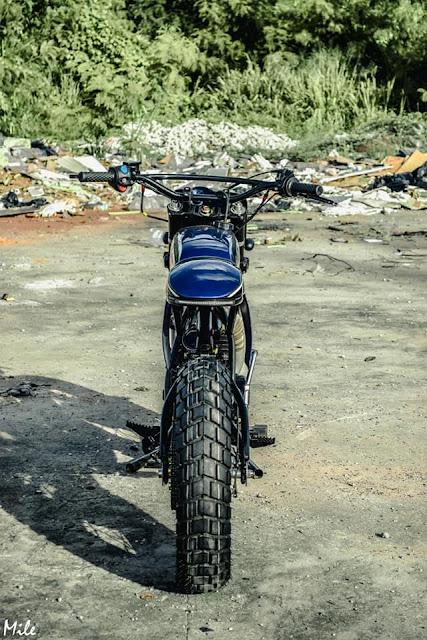 Yamaha DT125 By Ranger Korat Custom Hell Kustom