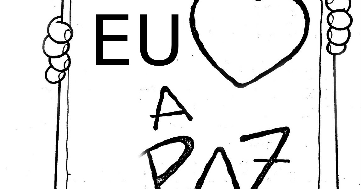 Atividade Para Imprimir: DESENHOS DE PAZ PARA COLORIR