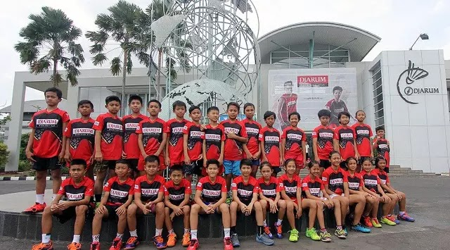 Sebanyak 29 Atlet Muda Dapat Beasiswa PB Djarum