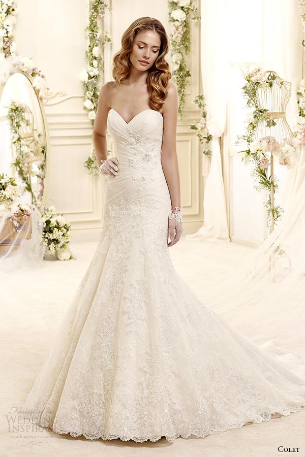 divinos vestidos de novias | coleccion colet | somos novias