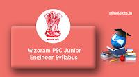 Mizoram PSC Junior Engineer Syllabus