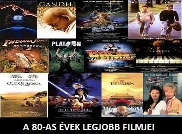 A 80-as évek legjobb filmjei, 80-as évek film top listák