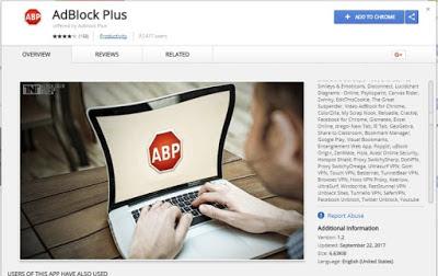 Tiện ích chặn quảng cáo gian lận lừa đảo 37.000 người dùng Google Chrome - AdBlockPlus