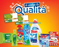 Logo Henkel e Vape ''Io scelgo la qualità'' e vinci 400 Card Conad da 30€