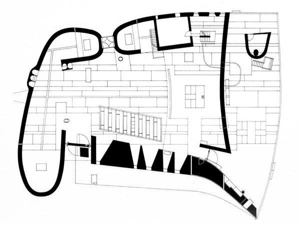 My Architectural Moleskine 174 Le Corbusier Chapel Of Notre Dame Du Haut Ronchamp Ii