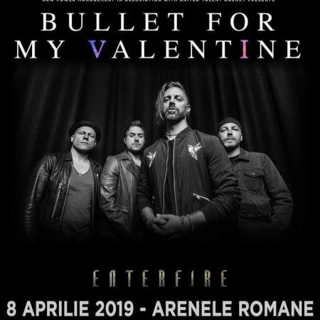 ENTERFIRE: Ανοίγουν τους Bullet For My Valentine στην Ρουμανία