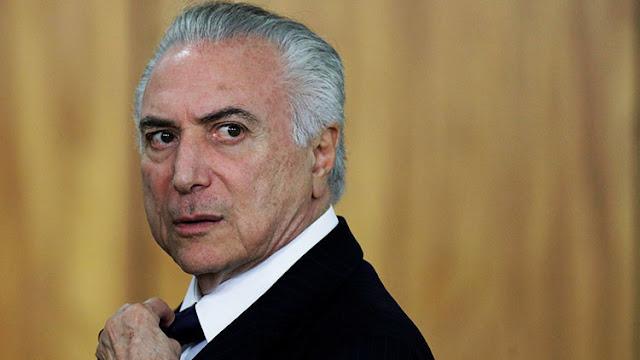 La Fiscalía de Brasil acusa a Temer de obstruir la justicia y participar en un grupo criminal