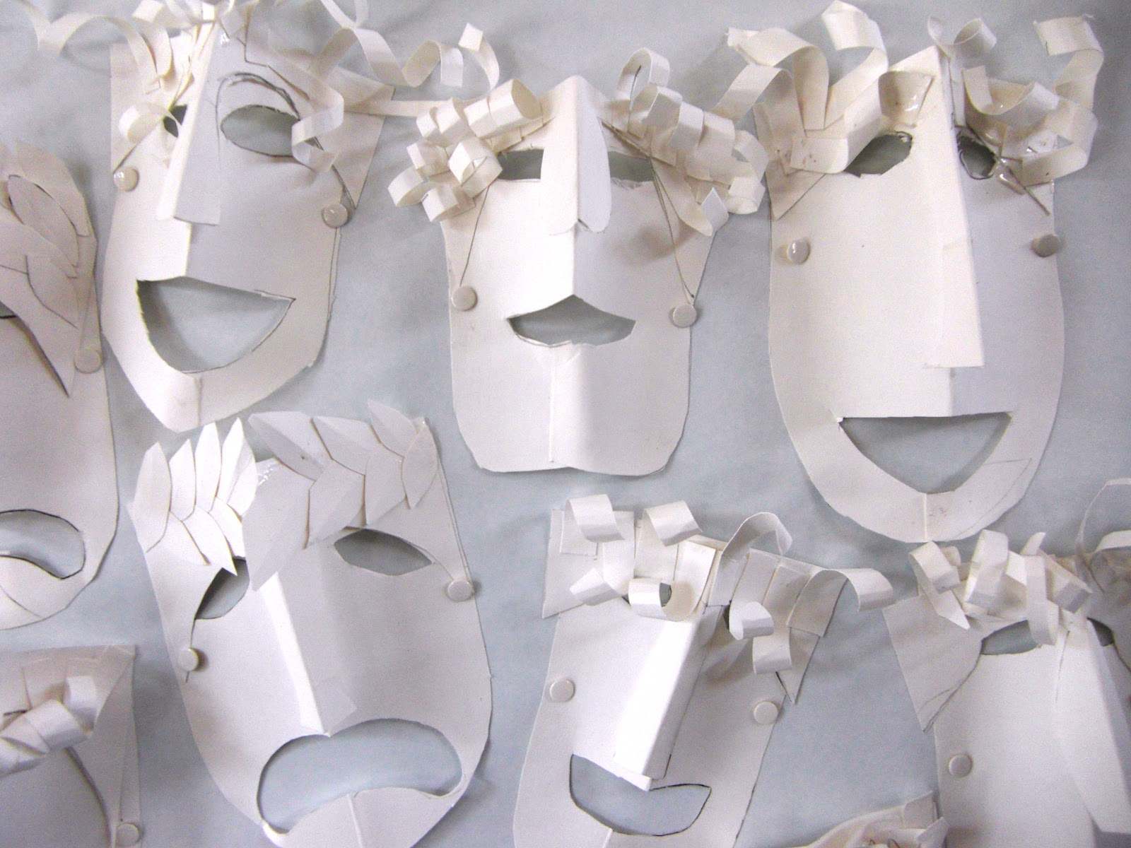 The mask paper