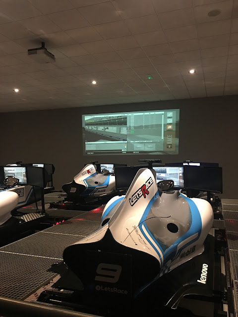 sim room F1 sims Let's Race, Horley