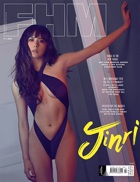 Jinri Park FHM July 2017 Cover Girl
