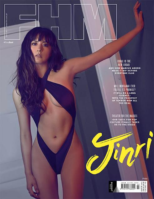 Jinri Park FHM July 2017 Cover Girl