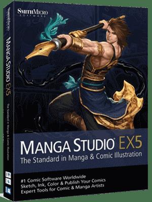 Manga Studio EX box
