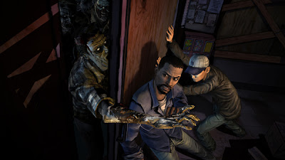 Immagine dal videogioco The Walking Dead